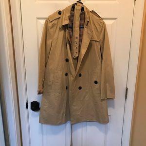 Zara women's rain/trench jacket NWT